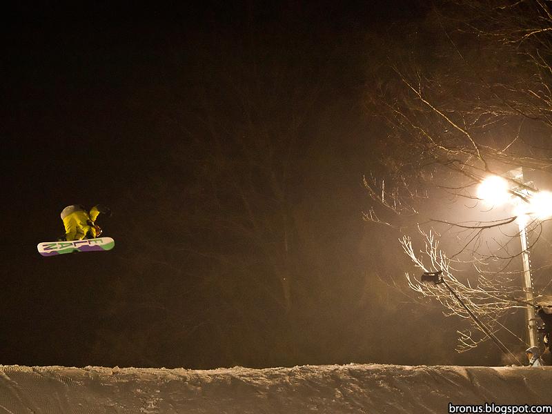 Zawody Burn'in Snow z serii TTR w Szczyrku.